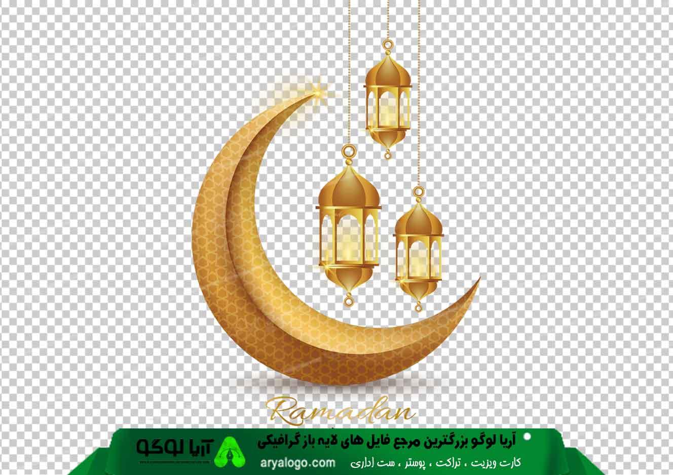 وکتور png ماه رمضان 16