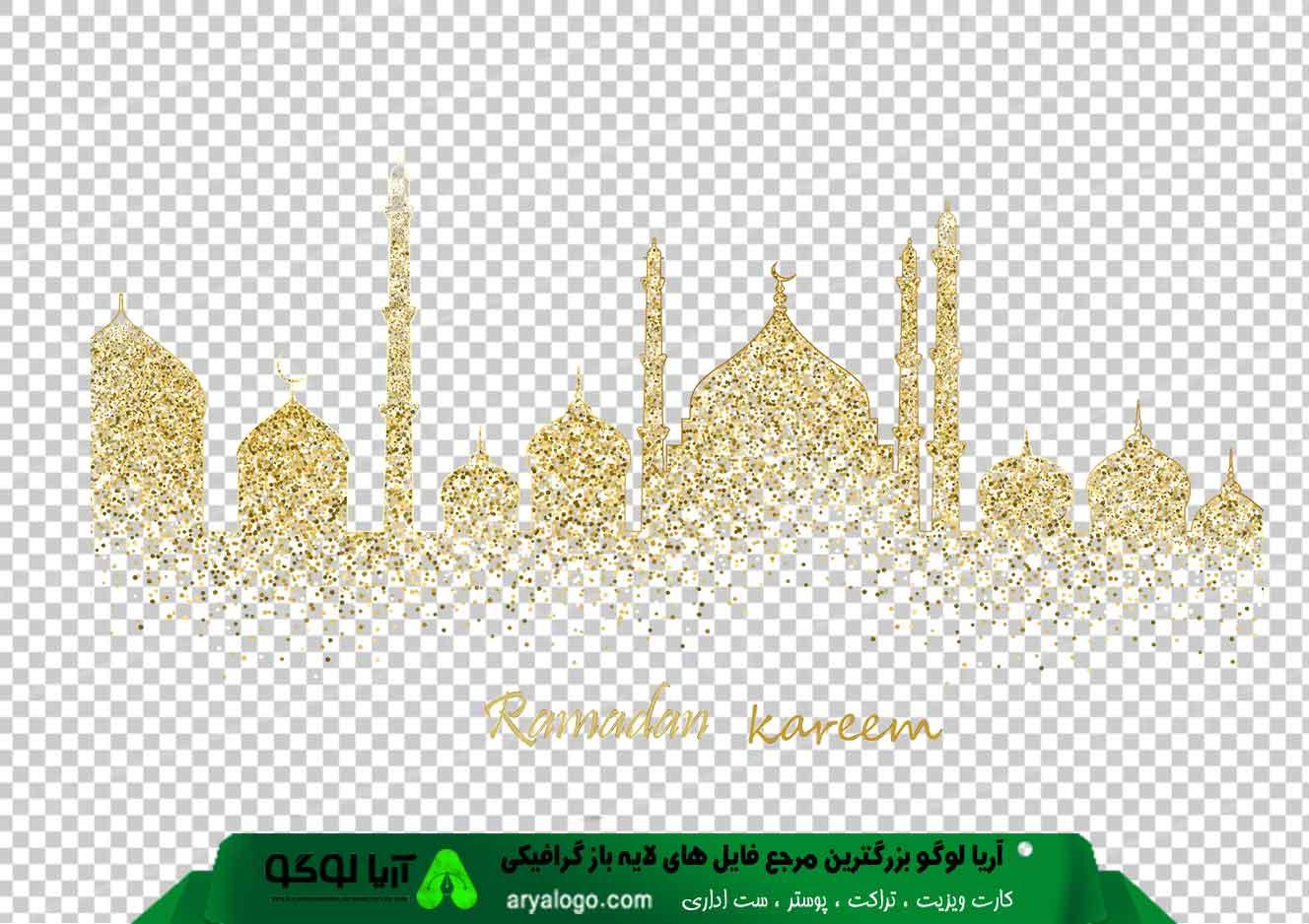 وکتور png ماه رمضان 19